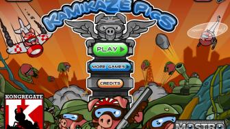 Kamikaze Pigs Oyunu Oyna