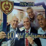 Lefkoşa Türk Lisesi 1975-76 yılı mezunları 40. Yıl yemeğinde Lefkoşa Merit Otelde bir araya geldi.