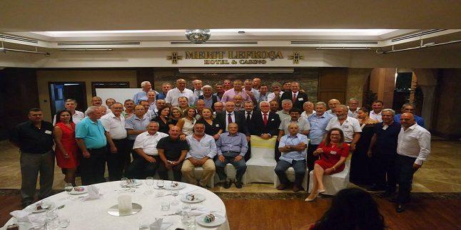 Lefkoşa Türk Lisesi 1975-76 Yılı Mezunları 40. Yıl Yemeğinde Bir Araya Geldi