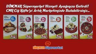 CMR Çiğ Köfte Artık DİNÇMAR Süpermarkette